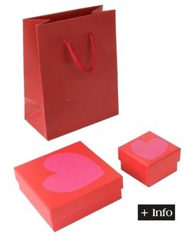 Cajas de carton para enamorados. Serie Amor