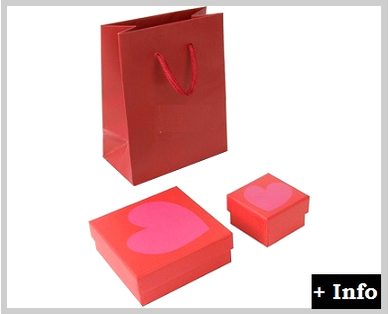 Caja de carton serie amor