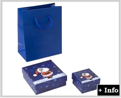 Caja de carton serie Santa Claus
