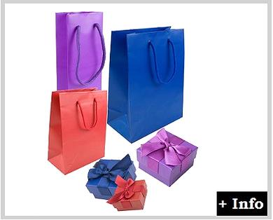 Caja de carton con lazo serie Sonia